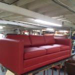 Divan – Louis Rousseau Rembourrage, recouvrement et restauration de meubles, Québec