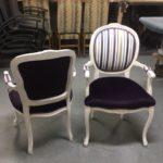 chaise04 – Louis Rousseau Rembourrage, recouvrement et restauration de meubles, Québec