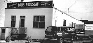 Louis Rousseau Rembourrage,  Québec - truck4